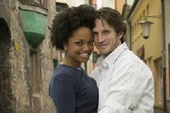 mixed couple