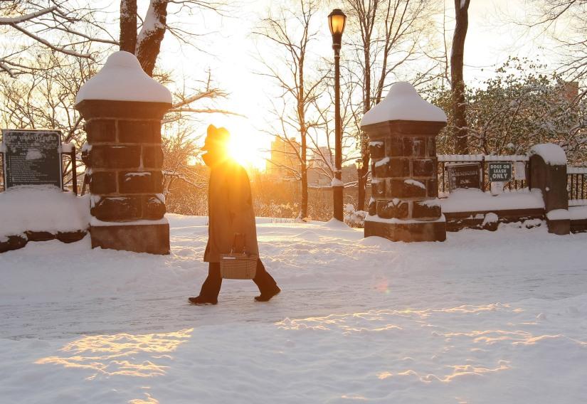 Snow storm hits New York City